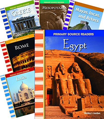 Cultures through Time 8-Book Set (Social Studies Readers) by Shell Education