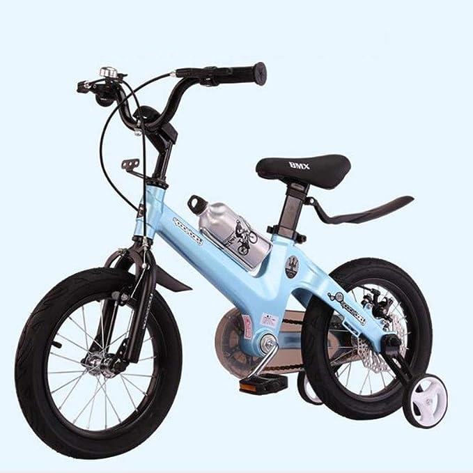 """KY Bicicleta niños Balance Bike Los niños for Bicicleta de Entrenamiento Ajustable del niño con el Titular de la Botella de Agua de 2-8 años de Edad, en tamaño 12"""" 14"""" 16"""":"""