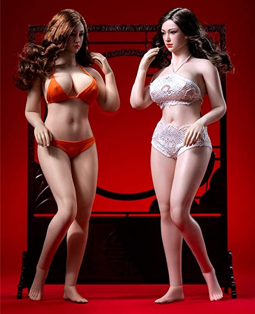 1//6 TBLeague S39 Suntan Skin Female Super-Flexible Plump Body W//Head Sculpt Toy