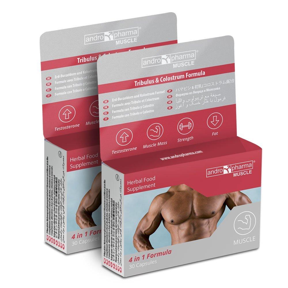 X2 Andropharma Muscle: Suplemento para Aumento Masa Muscular Crecimiento Músculo (60 capsulas): Amazon.es: Salud y cuidado personal