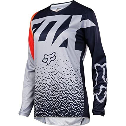 Image Unavailable. Image not available for. Color  Fox Racing 2018 Womens  180 Jersey-Grey Orange-L 3ad293a0e