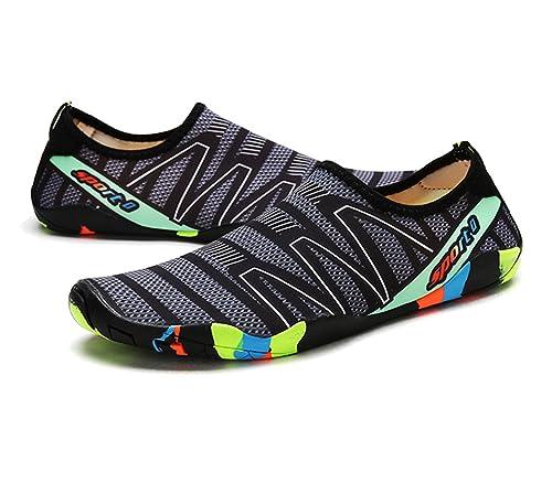 Mens Beach Swimming Water Shoes Skin Quick Dry Aqua Socks Barefoot Sneakers Yoga
