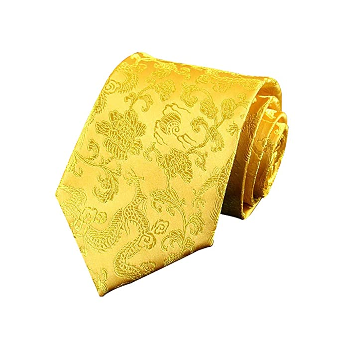 JUNGEN Corbata Hombre Vintage Corbata Estampada con Tótem de ...