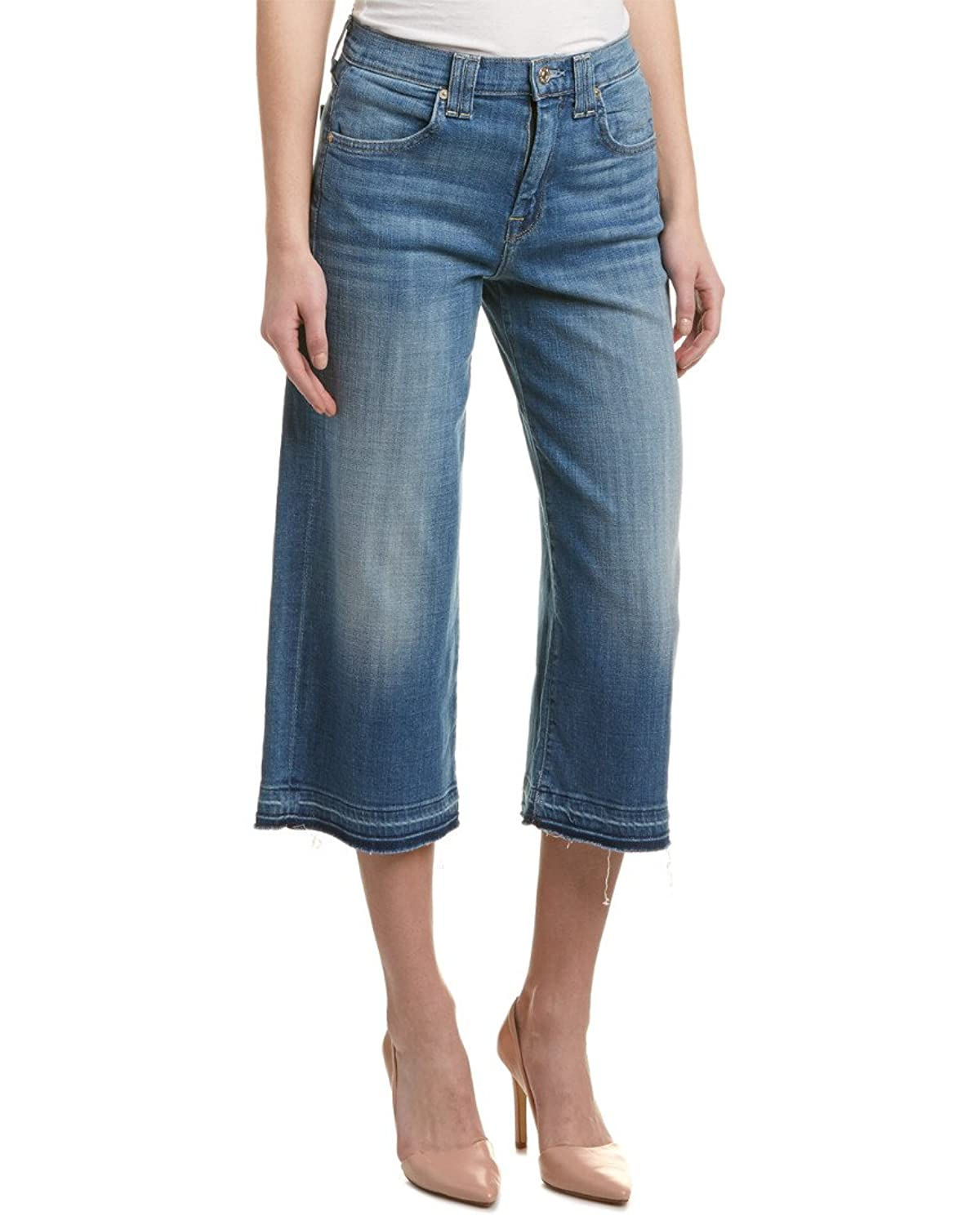 7 For All Mankind Sky Blue Culotte