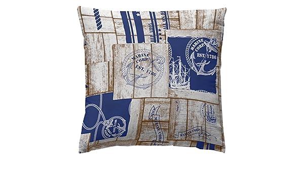 Amazon.com: Martina Home COJIN Covers Marine 40 x 40 cm Blue ...