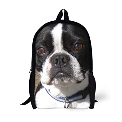 eaf28c7057 well-wreapped Dellukee Funny School Bags Dog Print Cute Stylish Durable  Large Backpacks For Kids
