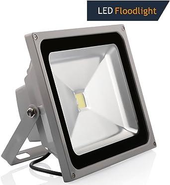 TechBox® - Foco proyector LED, 10 W, 20 W, 30 W, 50 W y 100 W ...