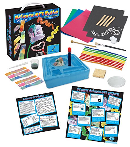 Science Gallery - The Young Scientists Club Science Art Fusion Crystals Kit