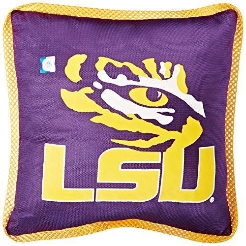 NCAA LSU Fightin Tigers Sideline Pillow (Lsu Tigers Square)