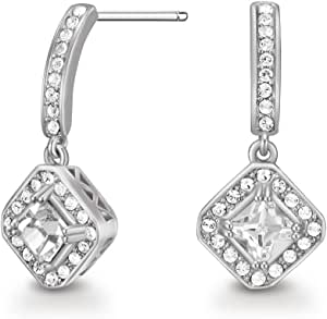 Mestige Jewellery Elina Earrings with Swarovski® Crystals, Gifts Women Girls, Bridal Drop Dangle