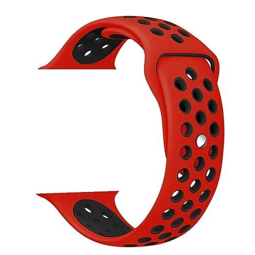 271 opinioni per ZRO Smartwatch Cinturino, Morbido Silicone Sport Cinturini di Ricambio per Apple