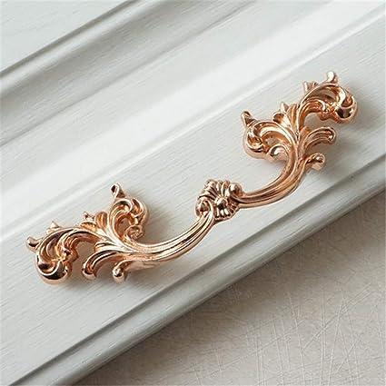 Lbfeel 2 5 3 78 Rose Gold Drawer Pull Handles Dresser Knobs Shabby Chic Kitchen Cabinet Knob Door Hardware 64 96 Mm 2 5 Hole Centers