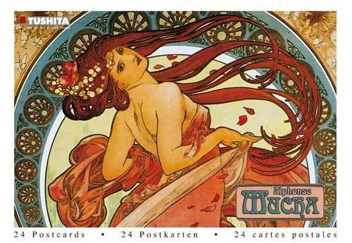Alphonse Mucha (Postcard (Alphonse Mucha Postcard)
