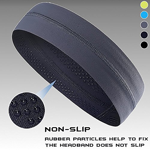 Non-Slip Yoga, Sport, Cooling Headbands That Can Absorb Sweat And Which Has A Very High Elasticity, Useful for Fitness, Gym, Great For Women And Men (Ohio Athletic Shorts)