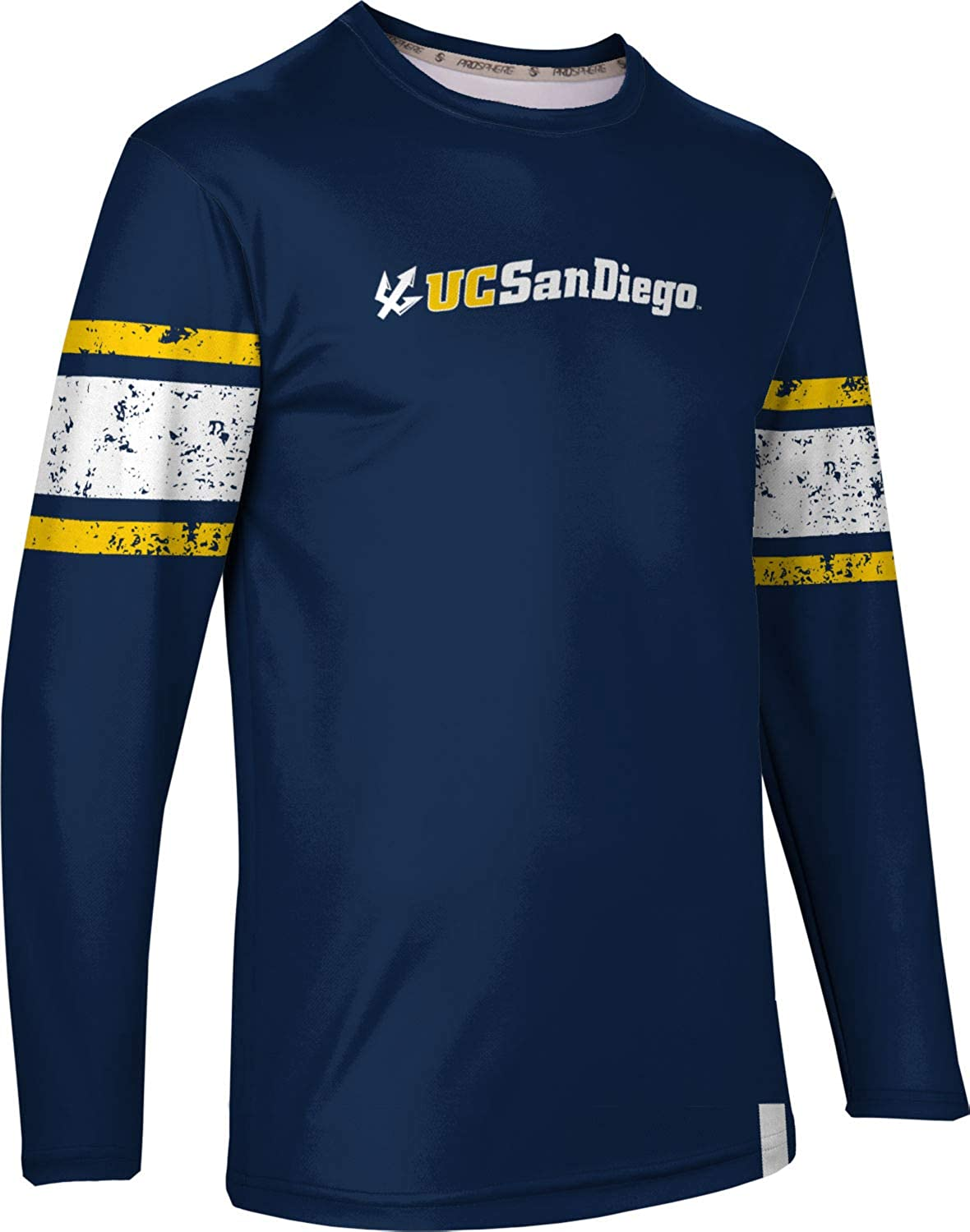 End Zone San Diego Mens Long Sleeve Tee ProSphere University of California