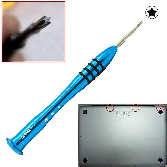 Destornillador Pentalobe 5 Puntas 1.2 para Macbook Pro, Air, Retina 11 13 15: Amazon.es: Bricolaje y herramientas
