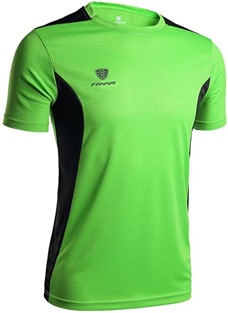 Hombres Deportes t Camisa elástica Entrenamiento Gimnasio Yoga Running Fitness Deportivo Top Camisa Blusa XXX-Large Verde: Amazon.es: Electrónica