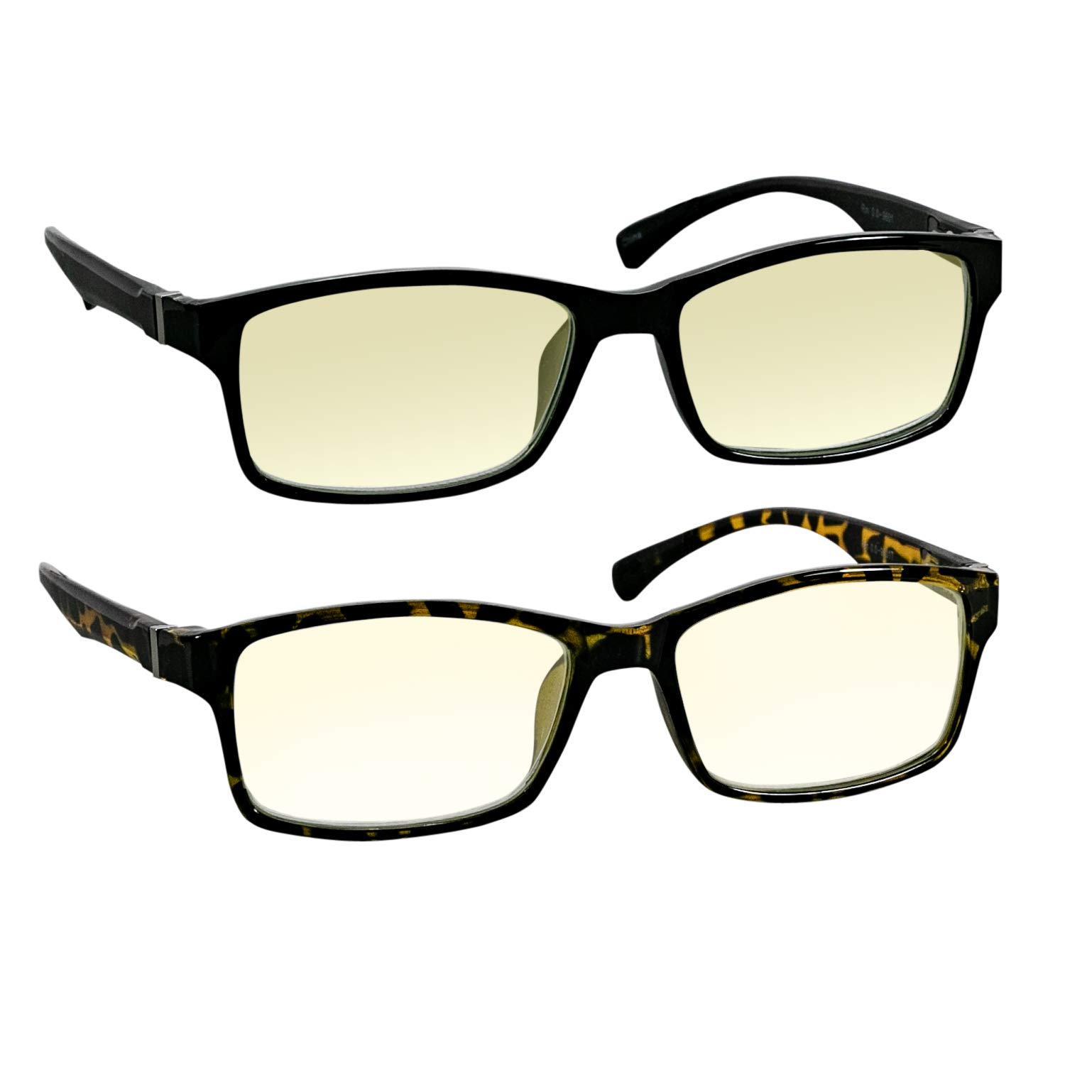 98b28d88d31 Amazon.com  Computer Reading Glasses 2.75 Black Tortoise Protect Your Eyes  Against Eye Strain