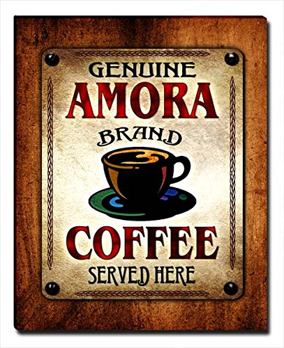 ZuWEE Amora's Coffee Family Name Gallery Wrapped Canvas Print