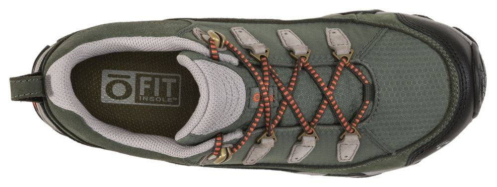 Oboz Juniper Low Hiking Shoe - Women's Thyme/Coral 10.5 by Oboz (Image #4)