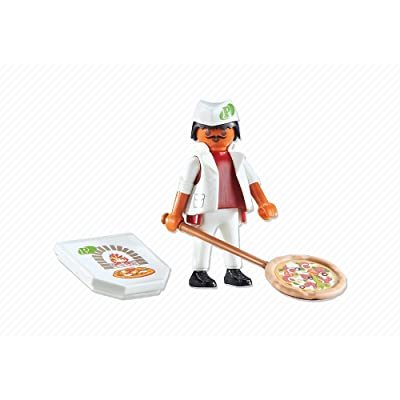 PLAYMOBIL Pizza Chef Playset: Toys & Games