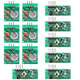 433mhz module - UCEC XY-MK-5V / XY-FST 433Mhz Rf Transmitter and Receiver Module Link Kit for Arduino/Arm/McU/Raspberry pi/Wireless DIY(6-pack)