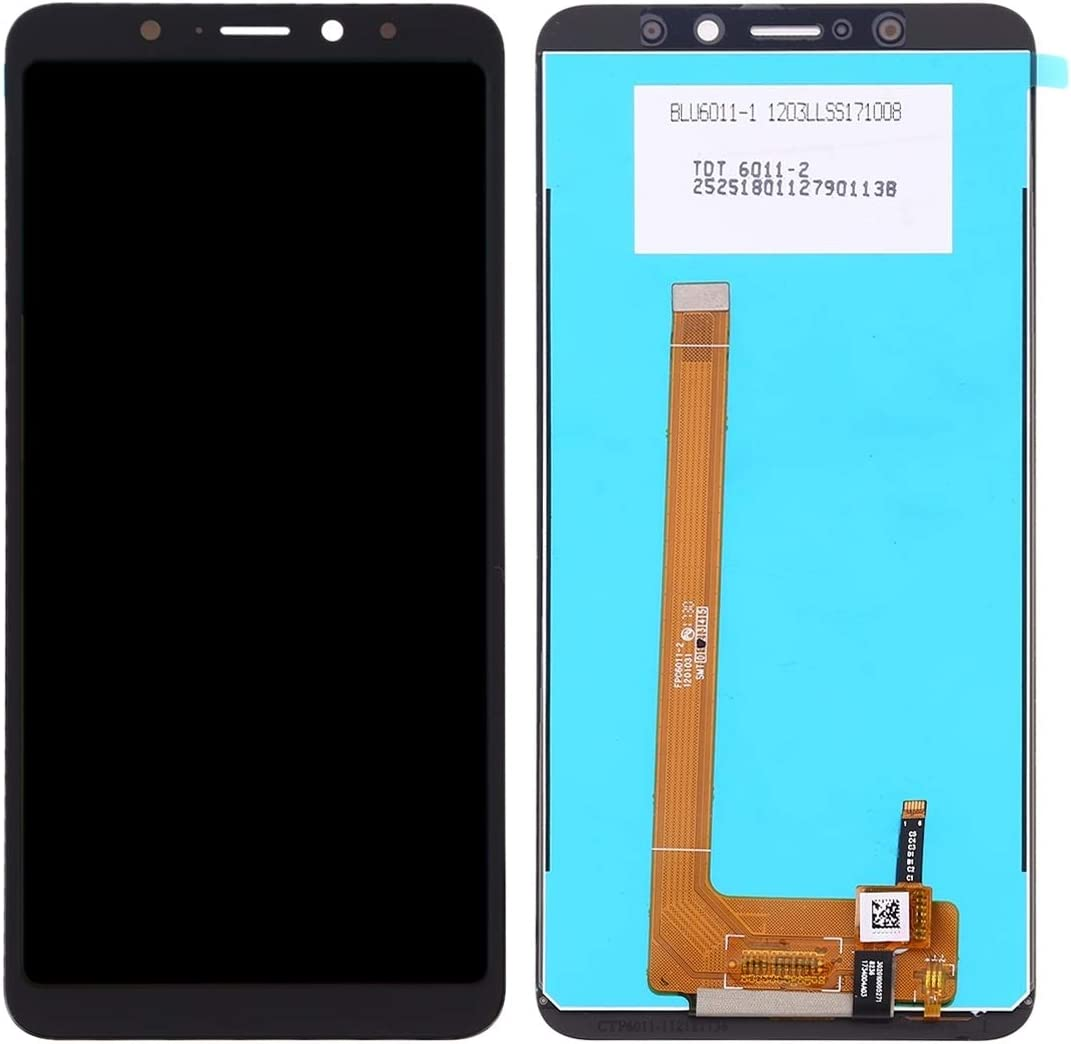 Color : Black Black LCD Screen Mobile Phone and Digitizer Full Assembly for Wiko View XL