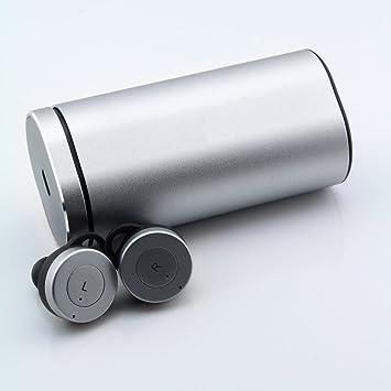 Earbuds Silver - Mini Auriculares Inalámbricos con Estuche de Carga: Smartoools: Amazon.es: Electrónica