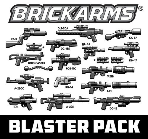 Buy BrickArms Blaster Pack 2.5-Inch Weapons Pack