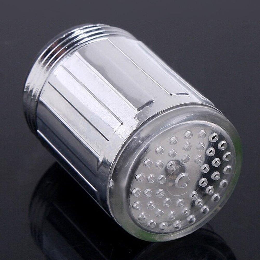 Hillrong Mini robinet d/éclairage LED pour cuisine et salle de bain