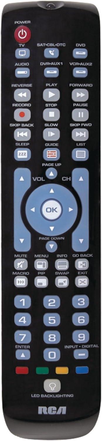 RCA RCRN06GR 6-Device Green Backlit Universal Remote Verde adaptador de cable: Amazon.es: Electrónica