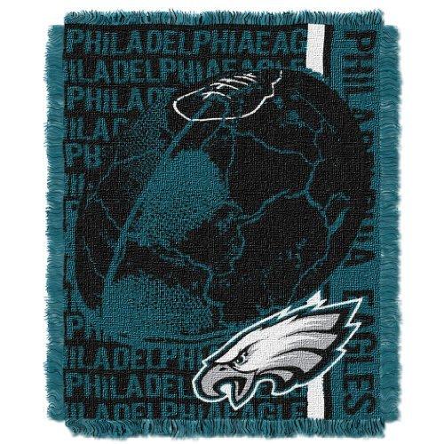 The Northwest Company NFL Philadelphia Eagles Double Play Jacquard Throw, 48