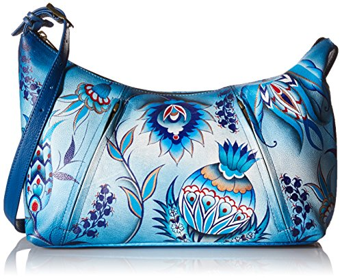bwb By 450 Bewitching Anna Anuschka Size Bag Shoulder Only Blues Bewitching Blues Anuschka Bwb TqwYwdg