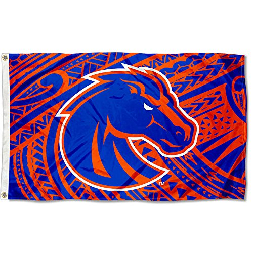 College Flags and Banners Co. Boise State Broncos Samoan Pattern Flag