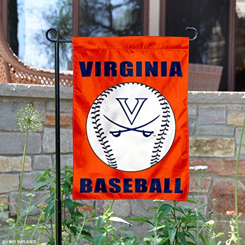 University of Virginia Baseball Garden Flag and Yard Banner