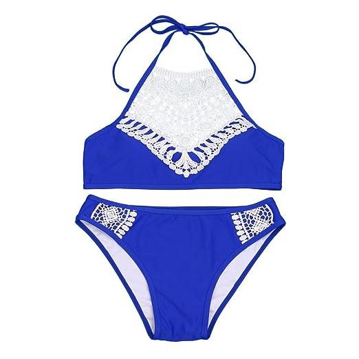 1b2f770fd8 Amazon.com: Lisin Bikini Bathing Suit Set,Women Sandy Beach Push-up Padded  Bra Bra Sexy Bikini Swimsuit Set Beach Swimwear Add Color: Clothing