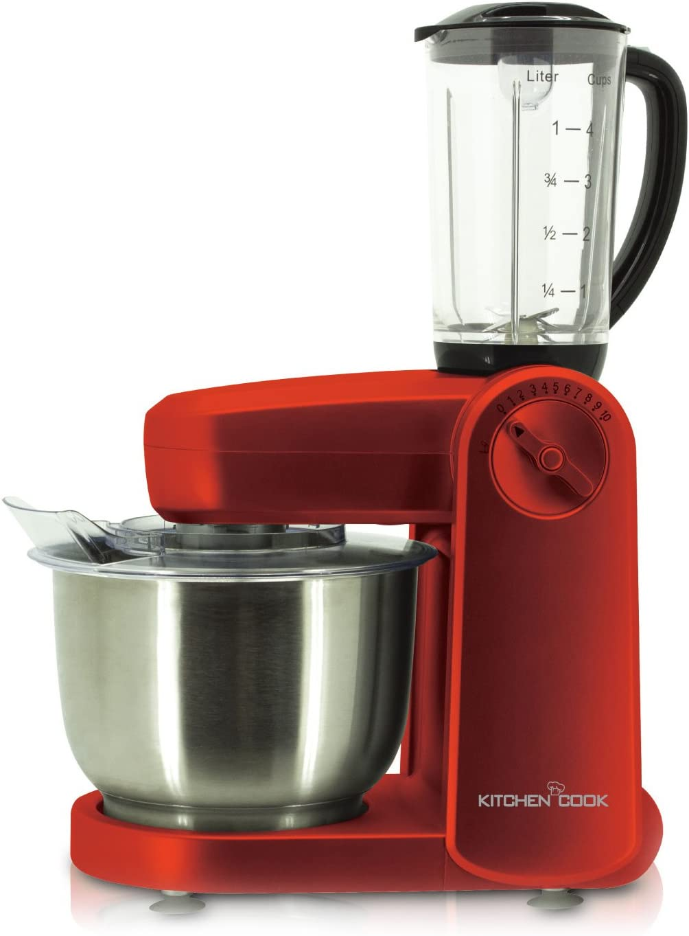 KitchenCook MIXMASTER V2 SIL - Robot de cocina (multifunción): Amazon.es: Hogar