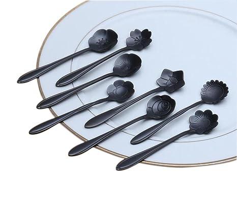 8x Chytaii Cuchara de Cocina Cucharilla de Café/Té/Sopa/Postre/Camarero