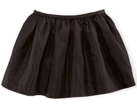 Amazon.com: Ralph Lauren Girls' Taffeta Skirt Black: Clothing