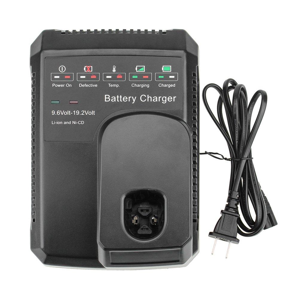 Dosctt 9.6V to 19.2V Battery Smart Charger for Craftsman 19.2 Volt Battery C3 DieHard NiCD NiMH Lithium 130279005 1323903 11375 11376 315.115410 315.11485