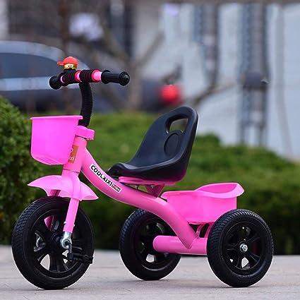 XYQ Carrito de bebé-Carro de bebé Rosa/Azul / Rojo/Blanco Bicicleta