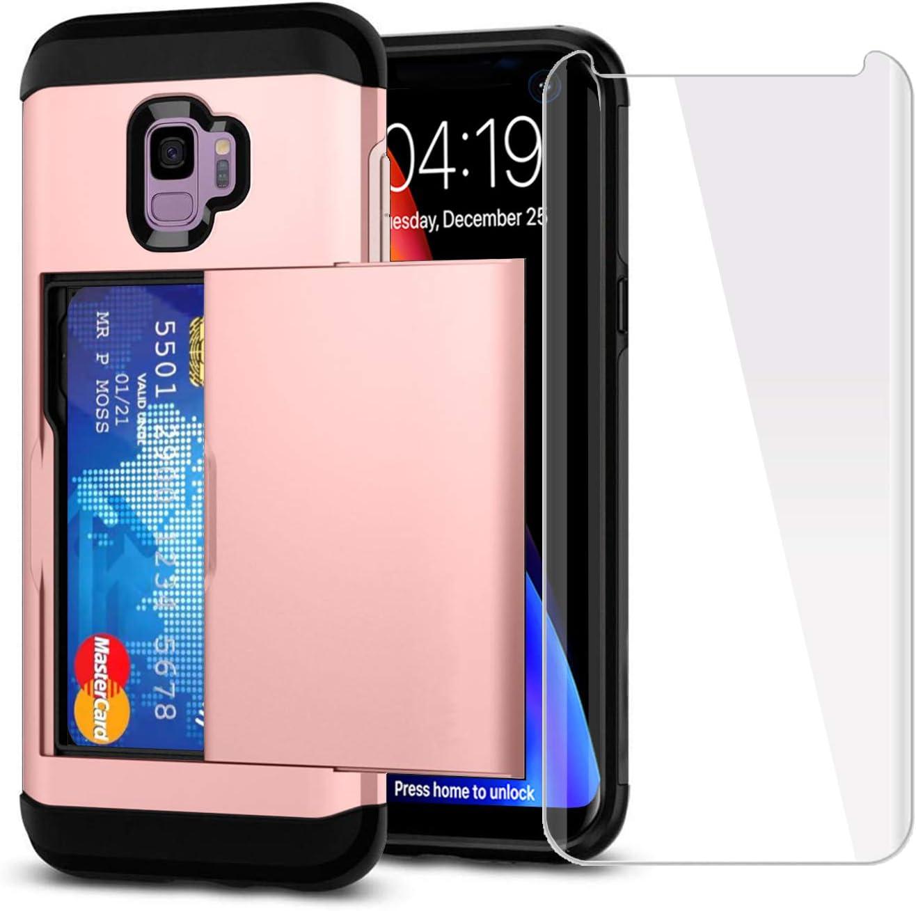 SUPBEC Galaxy S9 Case Card Holder