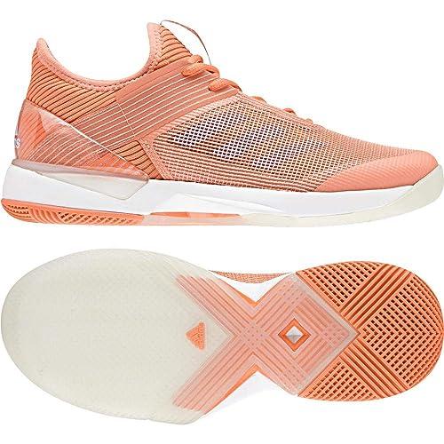 04ec4c9adb adidas Women's Adizero Ubersonic 3 Tennis Shoes: Amazon.co.uk: Shoes ...