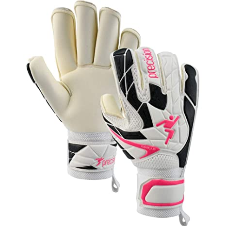 Precision Womens Fusion X.3D Roll Superlow Goalkeeper Gloves Size 5 White f338848cf
