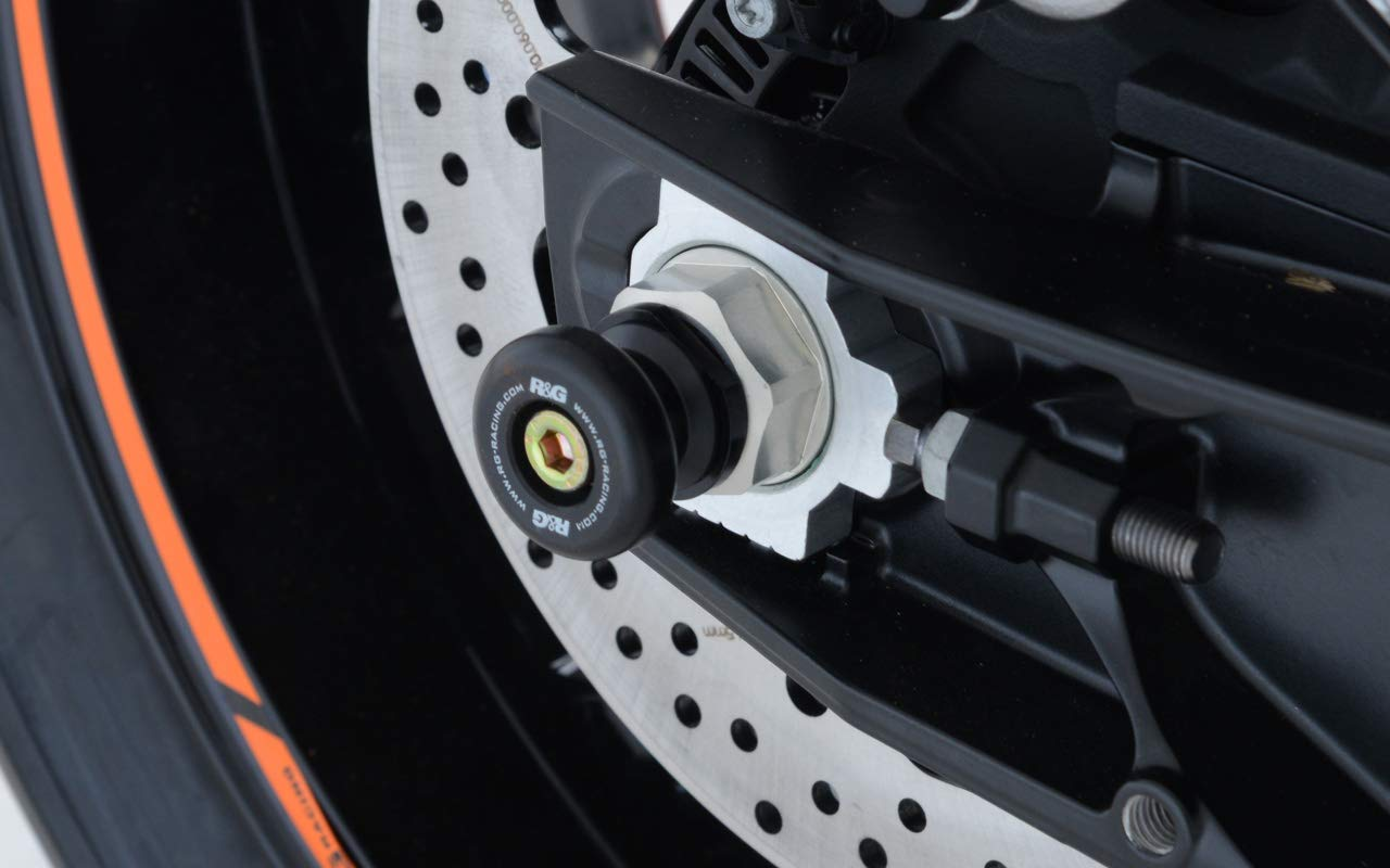 R/&G RACING Protection de Bras oscillant Noir KTM 790 Duke