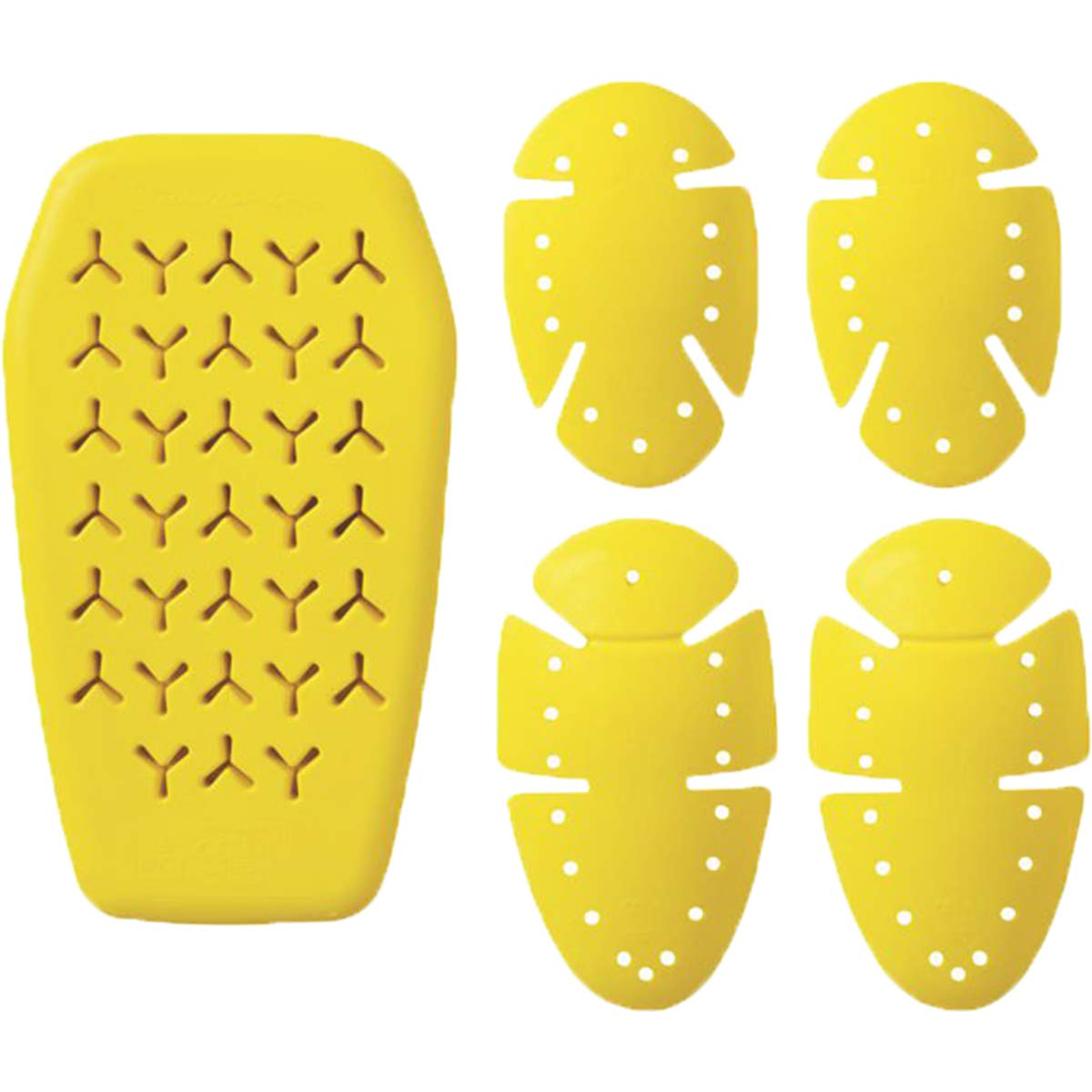 Roland Sands Design Knox Microlock Men's Off-Road Motorcyle Pads - Yellow/One Size 0812-0804-0000
