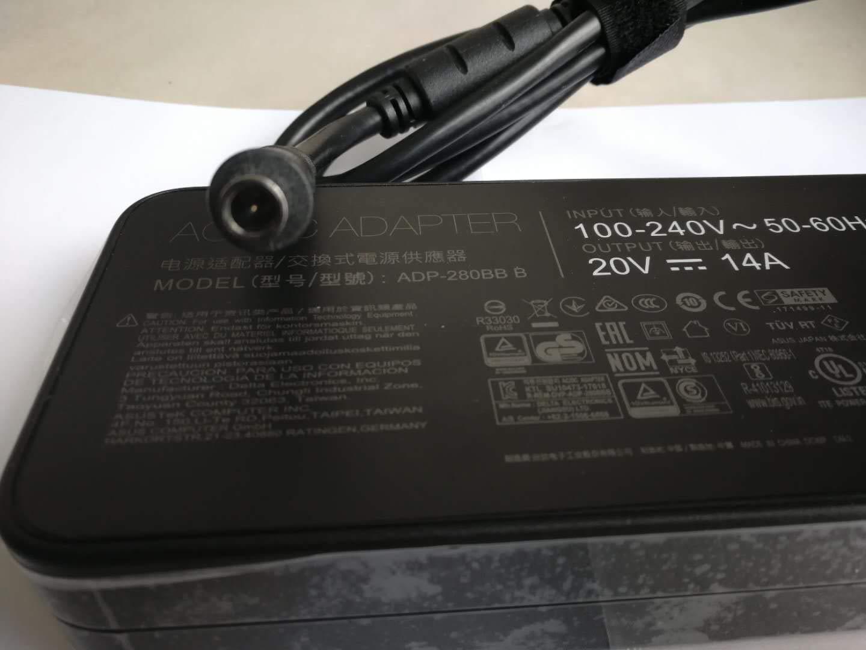 280W 20V 14A AC Adapter for MSI GE75 Raider 8SG/RTX2080 ADP-280BB B
