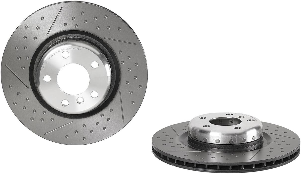 Set de 2 BREMBO 09.C400.13 Rotors de Disque de Frein