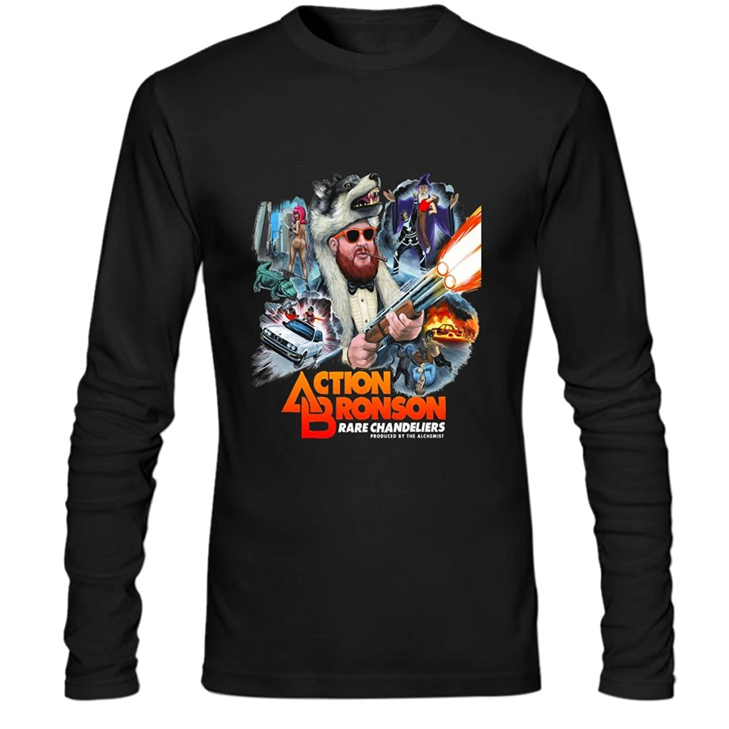 Amazon Mens Action Bronson Long Sleeve Shirt Clothing