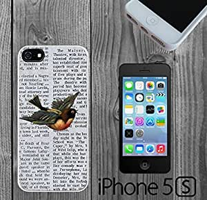 Bird on Newspaper Custom made Case/Cover/skin Case For Htc One M9 Cover
